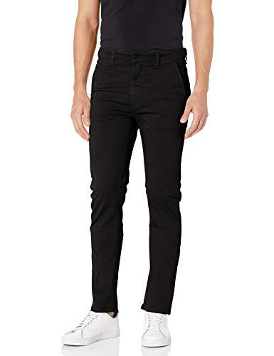 Nudie Jeans Damen Slim Adam Jeans, schwarz, 31W / 34L