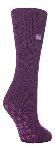 HEAT HOLDERS Damen Thermal Slipper Socken Größe, 7 Farben zur Auswahl, 37-42 eu (Lavendel)