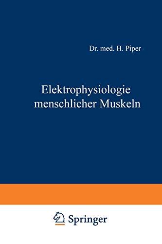 Elektrophysiologie menschlicher Muskeln