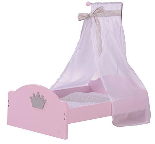 roba-kids - Cama de muñecas, color rosa (Roba Baumann 98033)