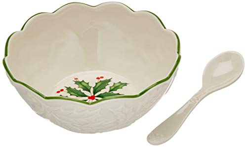 Lenox Holiday Dip Bowl with Spoon