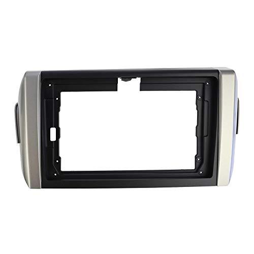 HIGHER MEN Car Accessories Parts La radio de coche for TOYOTA INNOVA Fascia 2016+ CD DVD estéreo del panel de 9 pulgadas de instalación de la pantalla del tablero de instrumentos del montaje del capít