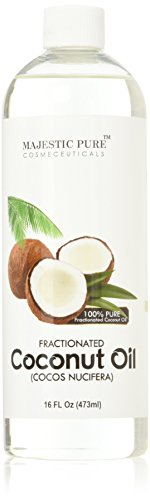 Buy Discount Pure Body Naturals Fractionated Coconut Carrier Oil, 16 fl. oz.