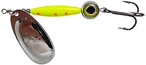 Thundermist Lure Company Eye#4-S-CO-SIL Stingeye Spinner Fishing Lure, Chartreuse