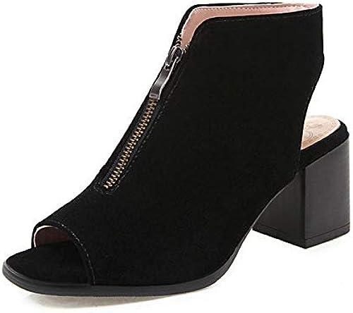HommesGLTX Mode élégante Grande Taille 43 Peep Toe Sandales D'été Femmes Chaussures Femme Chaussures Femme Bureau Lady Party Party Sandales