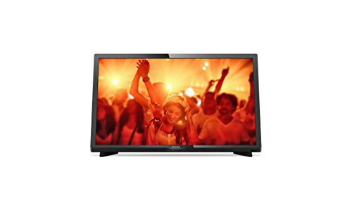Philips 24PHS4031/12 - Televisor LED de 24' (HD Ready, 1366 x 768, 200 Hz, 2 HDMI, 1 USB, sintonizador satélite)