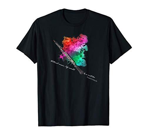 Instrument à vent en bois pour hautbois T-Shirt
