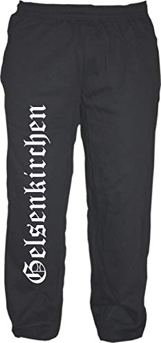 HB_Druck Gelsenkirchen Jogginghose - Altdeutsch - Sweatpants - Jogger - Hose Schwarz XL