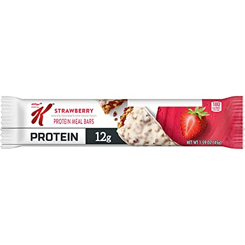 Kellogg's Special K Protein Bars, Strawberry, School and Office Snacks, Meal Replacement (20 Bars)