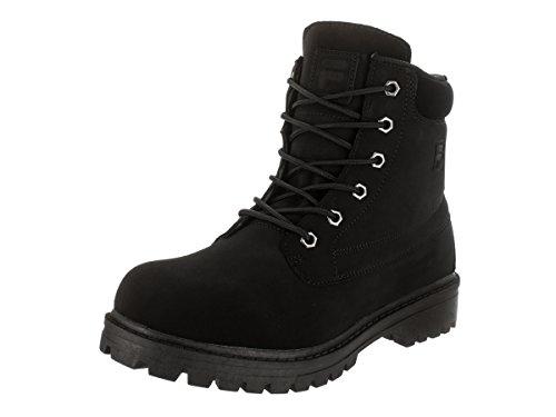 Fila Men's Edgewater 12 Black/Black Boot 11 D - Medium