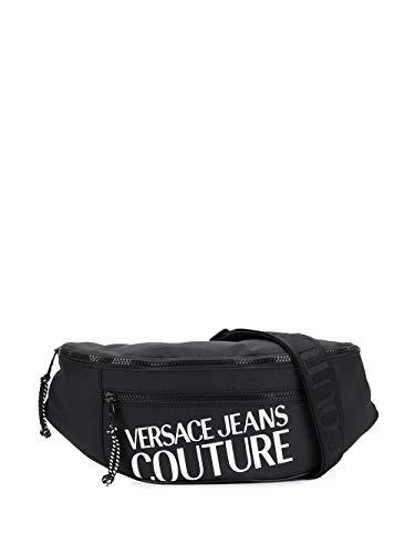 Versace Luxury Fashion Jeans Herren E1YVBB4371428899 Schwarz Synthetisch Fasern Gürteltasche   Frühling Sommer 20