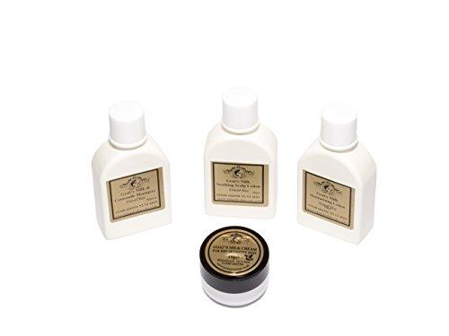 Elegance Natural Skin Care Pack de voyage pour eczéma, psoriasis, dermatite, roséée et autres problèmes de peau sèche