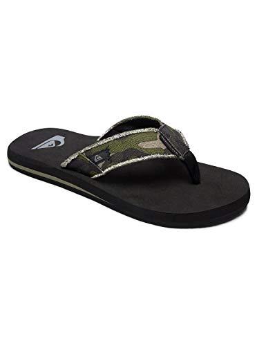 Quiksilver Monkey Abyss, Zapatos de Playa y Piscina para Hombre, Verde...
