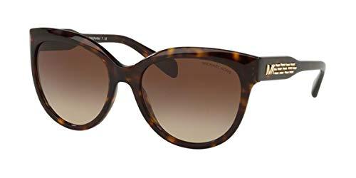 Michael Kors Gafas de Sol PORTILLO MK 2083 DARK HAVANA/BROWN SHADED 57/18/140 mujer