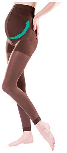 Gabriella Legging de grossesse opaque noir 100 deniers (1/2, Noir)