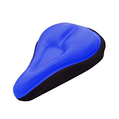 Funda Para Asiento De Bicicleta 2 unids 3D Silicona suave Cubierta de asiento de bicicleta transpirable Sillín de bicicleta espesada MTB Cojín de asiento de bicicleta Cojín de ciclismo Accesorios de b
