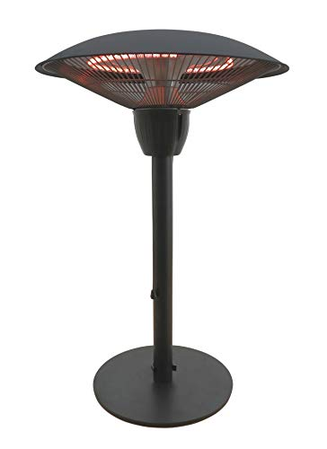 Westinghouse WES31-1566 Infrared Electric Outdoor Heater-Table Top, Black