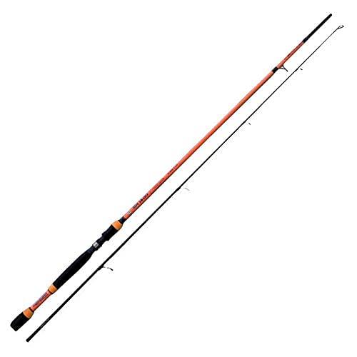SHIZUKA SH1400 2.40 m 10-35 g Canna da Pesca a Spinning Ideale per Tutti i Pesci Predatori Sia in Mare Che Fiume e Lago
