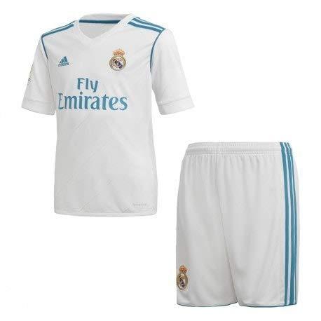 Camiseta y Pantalón Corto Real Madrid 2017/2018 Hombre (S)