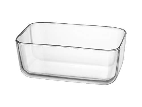 Bormioli 94060 Rocco Organize - Copa de cristal rectangular, 21 x 13 cm