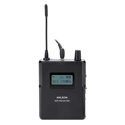 VBestlife 863-865 MHz podiummonitor ontvanger, 1/4 golflengte helder geluid draadloze stage monitor
