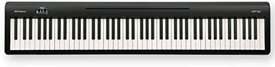Roland ローランド/FP-10-BK ポータブル・ピアノ