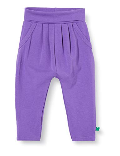 Fred'S World By Green Cotton Alfa Pants Girl Pantalon, Violet (Purple 018363301), 74 Bébé Fille