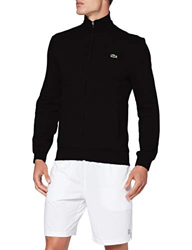 Lacoste Sport Sh1559 Maglione, Noir/Noir, 2 Uomo