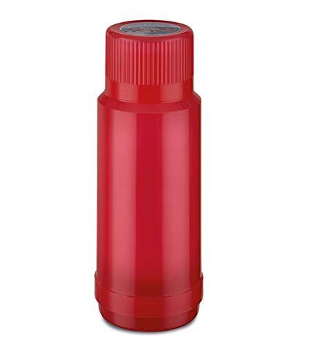 ROTPUNKT Isolierflasche 40 MAX 1,0 l | Zweifunktions-Drehverschluss | BPA Frei- gesundes Trinken | Made in Germany | Warm + Kalthaltung | Glaseinsatz | Glossy Bubblegum