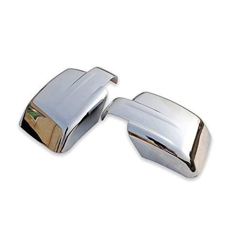 AKKNE 2Pcs Auto ABS Cromato Copri Specchietti Retrovisori, per Dodge Nitro 2007-2017 Door Side Rear View Mirrors Wing Calotte Protector Trim cap, Car Styling Accessori