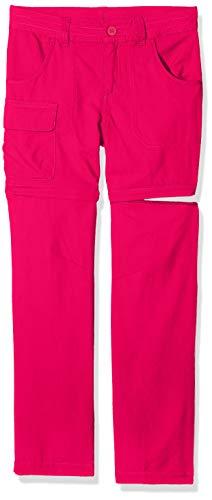 Columbia Silver Ridge III, Pantaloni Convertibili Bambina, Rosa (Haute Pink), L