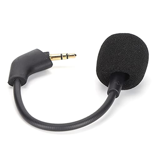 SALUTUY Micrófono de Repuesto con cancelación de Ruido, micrófono con cancelación de Ruido, reducción de Ruido, antioxidación, excelente Rendimiento para Auriculares para Juegos