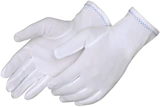 Liberty 4611 Nylon Full Fashion Stretch Inspector Men's Glove, Large (Pack of 12)