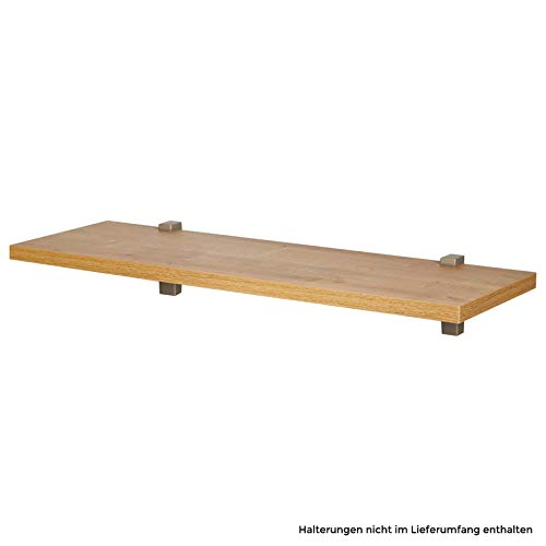 Wandboard/Wandregal nobilia elements VB25, 192 Eiche Provence, 80 cm