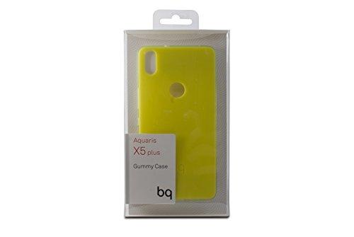 Ksix BQ BXBQ693 - Funda para Aquaris X5 Plus, Color Verde