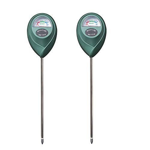 Great Price! XLUX T10 Soil Moisture Sensor Meter Water Monitor, Hydrometer for Gardening, Farming, N...