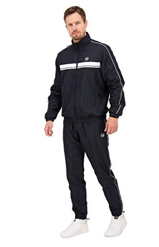 Sergio Tacchini Herren Trainingsanzug Agave Tracksuit Taschen mit Reißverschluss