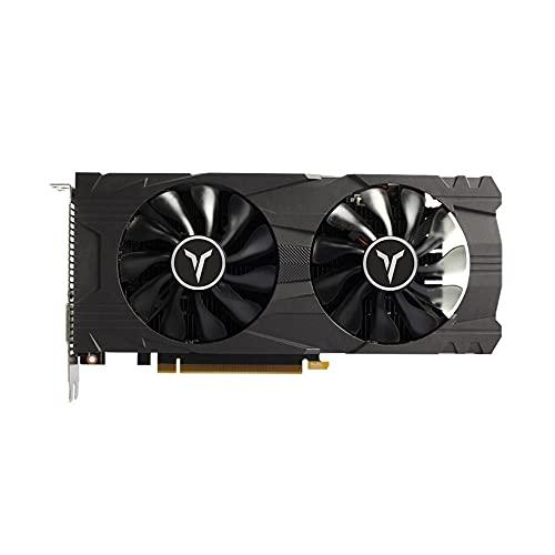 Festnight Tarjeta gráfica GeForce GTX 1050Ti 4G D5 GAEA con Sistema de refrigeración por Gravedad de Memoria 1291-1392MHz / 7008MHz 4GB / 128Bit / GDDR5