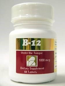 Intensive Nutrition, Inc. - B-12 Hydroxycobalamin 1000 mcg. - 60 Tablets by Intensive Nutrition