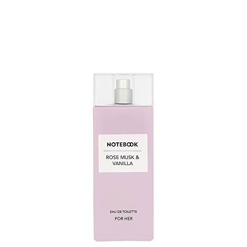 Notebook - Rose Musk & Vanilla AQUOLINA Eau de Toilette Damen 100 ml Spray