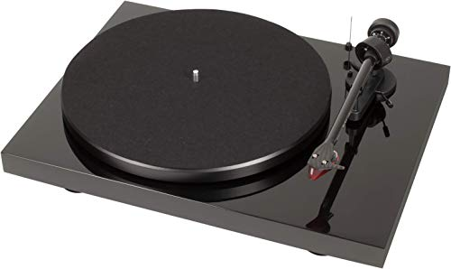 Pro-Ject Debut Carbon DC Turntable with Ortofon 2M Red Cartridge (Piano Black)