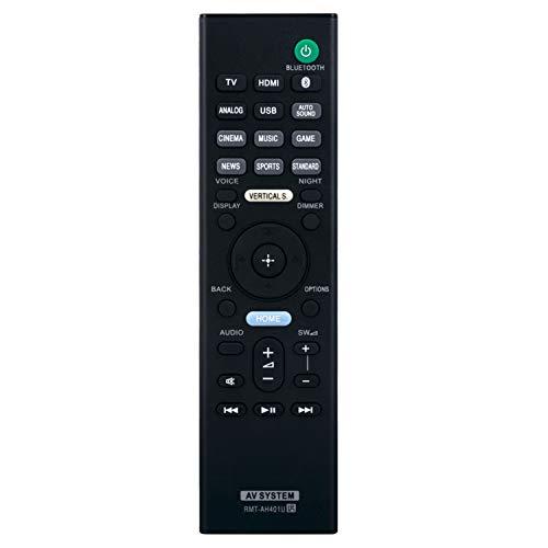 RMT-AH401U Replacement Remote Control fit for Sony Soundbar HT-X9000F...