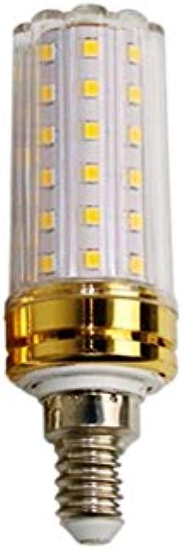 TLYS LED Light Glühbirne 12W E27 E14 1800 LM Small Edison Screw Clear Candle Lightle Lightlable 6500K Cold Weiß 10 Stück,E14
