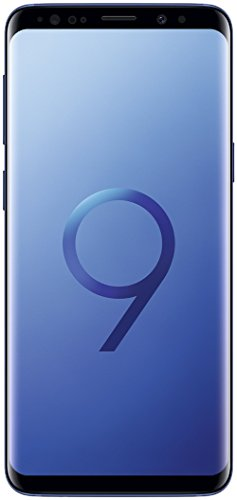 SAMSUNG Galaxy S9 64 GB, Single SIM, Android 8.0, Versión Internacional, Bleu Corail (Azul) (Reacondicionado)