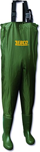 Zebco Uni Watstiefel Nylon Wathose, mehrfarbig, 45, 9327045