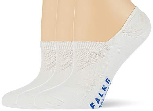 FALKE Unisex Cool Kick Invisible 3-Pack U IN Innensocken, Weiß (White 2000), 35-36 (3er Pack)