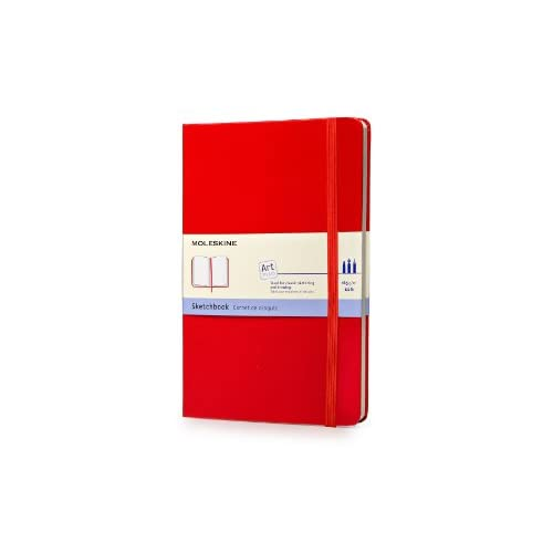 Red sketchbook, large