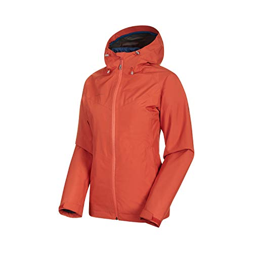 Mammut Damen 3in1 Convey Hooded Hardshell-Jacke mit Kapuze, Pepper-Wing Teal, XS