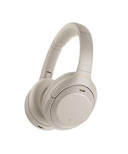 Sony WH1000XM4 - Auriculares inalámbricos Noise Cancelling (Bluetooth, optimizado para Alexa y Google Assistant, 30 h de batería, óptimo para trabajar en casa, micro para llamadas manos libres), plata
