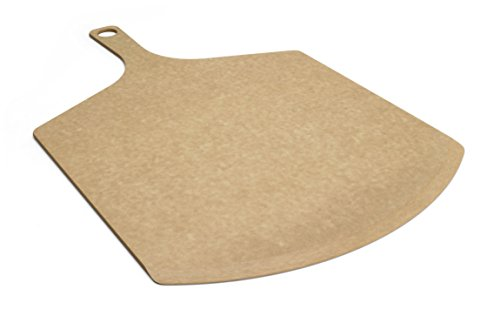 Epicurean Pizza Peel, 17-Inch by 10-Inch, Natural